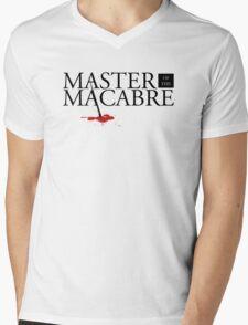Master of the Macabre Mens V-Neck T-Shirt