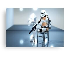 Sexy Stormtrooper Canvas Print