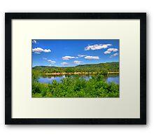 Wisconsin River  Framed Print