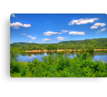 Wisconsin River  Canvas Print