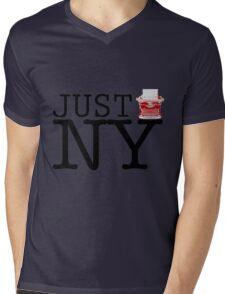 Just NY Mens V-Neck T-Shirt