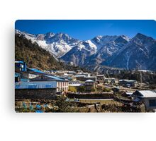 Village at the End of the World Canvas Print