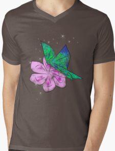 Origami Butterfly Mens V-Neck T-Shirt