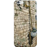 Watercolor Tribute to Arthur Rackham's Rapunzel iPhone Case/Skin
