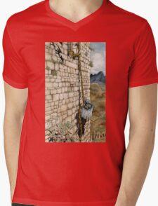 Watercolor Tribute to Arthur Rackham's Rapunzel Mens V-Neck T-Shirt
