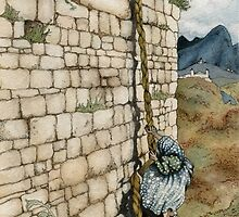 Watercolor Tribute to Arthur Rackham's Rapunzel by painted-lizard