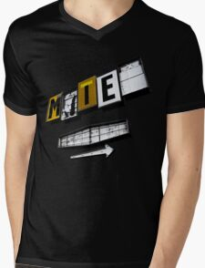 Motel Mens V-Neck T-Shirt