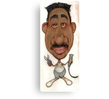 Bobblehead No 85 Canvas Print