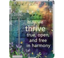 Thrive Prayer from Loving Rd iPad Case/Skin