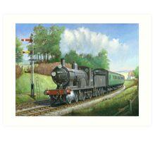 British Railways T9 4.4.0 Art Print