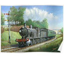 British Railways T9 4.4.0 Poster