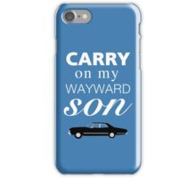 Carry On Impala iPhone Case/Skin