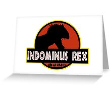 INDOMINUS REX - LARGE GRAPHIC Greeting Card