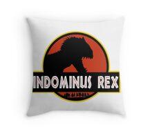 INDOMINUS REX - LARGE GRAPHIC Throw Pillow