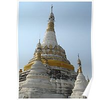 Buddhist Temple, Chiang Mai - Thailand Poster