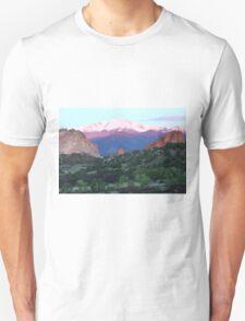 A Pikes Peak Sunrise T-Shirt