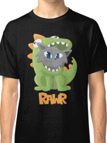 Cat Dino Onesie Classic T-Shirt