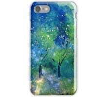 Tree Series - Trees in the Orchard 2 RH Section only iPhone Case/Skin