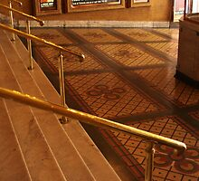 Stairs, Rails and Mosaic ... by Ell-on-Wheels