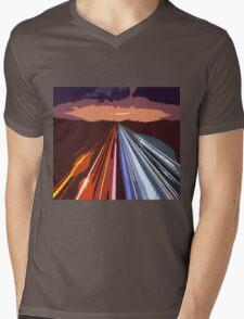 highway Mens V-Neck T-Shirt