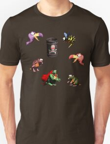 Donkey Kong Country - Bosses T-Shirt
