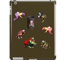 Donkey Kong Country - Bosses iPad Case/Skin
