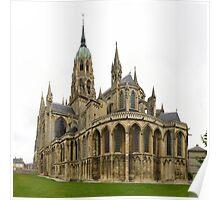 Cathédrale Notre-Dame de Bayeux Poster