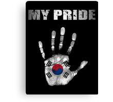 My Pride South Korea Canvas Print