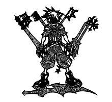 Kingdom Hearts Doodle by Pandora's  Scribbles