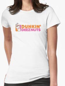 Dunkin Deeznuts Womens Fitted T-Shirt
