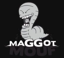 Maggot Mouf Logo Tee by BrokenToothEnt