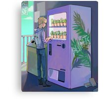 vending machine Canvas Print