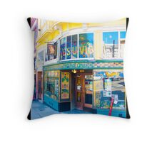 Vesuvio Bar - San Francisco Throw Pillow