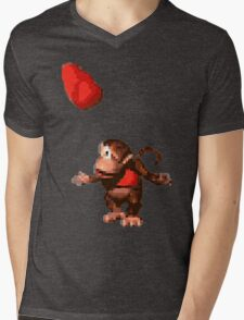 Donkey Kong Country  - Wink Mens V-Neck T-Shirt