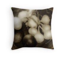 Assorted Alliums Throw Pillow