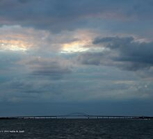 Eyes In The Sky Over The Inlet Bridge   Fire Island, New York by © Sophie W. Smith