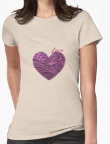 Water Lilies Womens Fitted T-Shirt