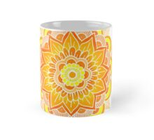 Mandala: Orange/Yellow Mug