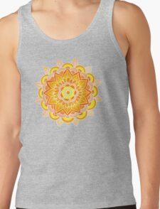 Mandala: Orange/Yellow T-Shirt