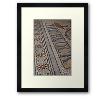 Block Mosaic Framed Print
