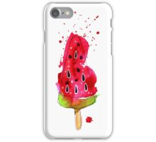 Watermelon ice cream iPhone Case/Skin