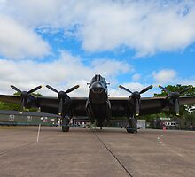 "Lancaster B VII NX611 ""Just Jane"" by Nick Atkin"