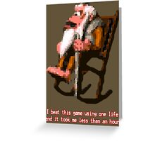Donkey Kong Country - Cranky Kong Greeting Card
