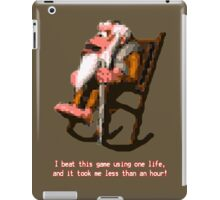 Donkey Kong Country - Cranky Kong iPad Case/Skin