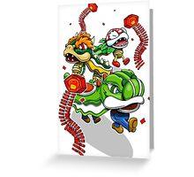 Mushroom Kingdom New Years Lion Dance Greeting Card