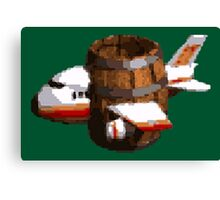 Donkey Kong Country - Funky's Flights Canvas Print