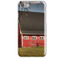 Old Red on the Prairies iPhone Case/Skin