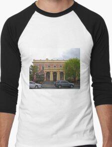 State Government Building, Launceston, Tas, Australia Men's Baseball ¾ T-Shirt