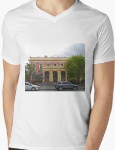 State Government Building, Launceston, Tas, Australia Mens V-Neck T-Shirt