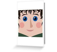 Frodo Square Greeting Card